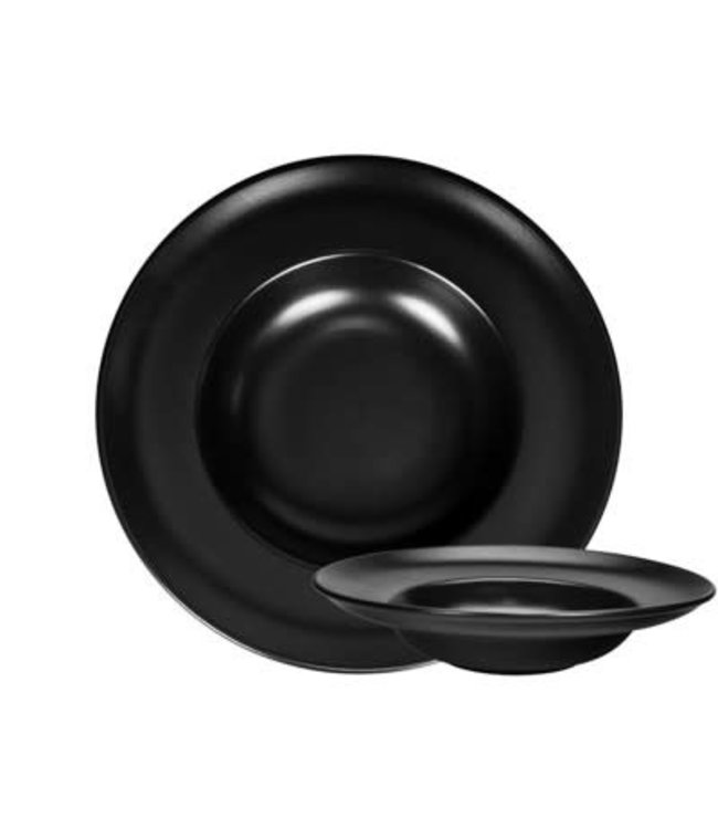 Gusta Pastabord zwart 30cm
