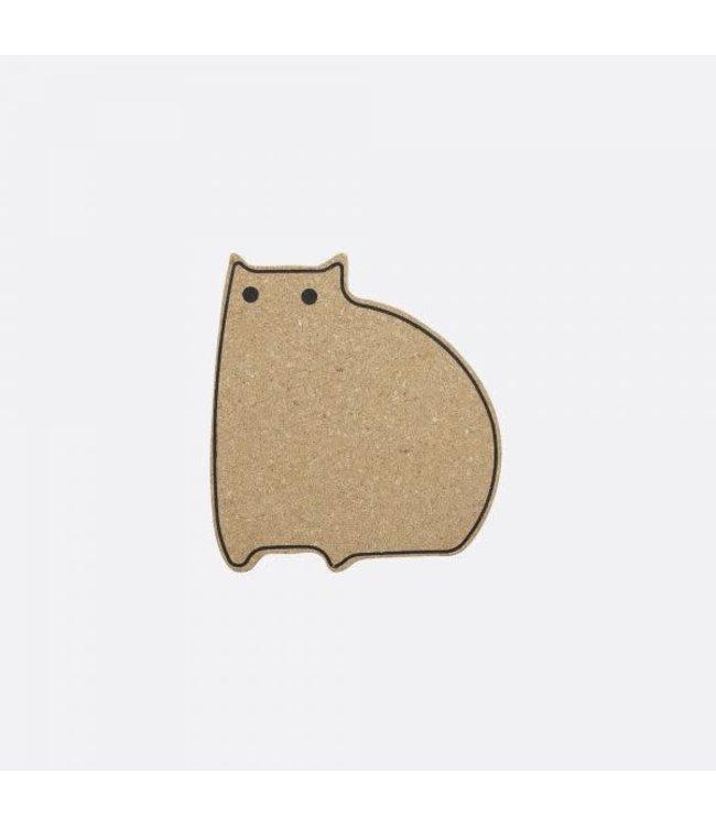 Point-Virgule Point-Virgule pannen onderzetter kurk kat