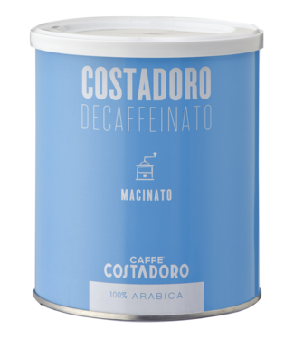 Costadoro Costadoro decaf bonen Arabica 250 gr. blik