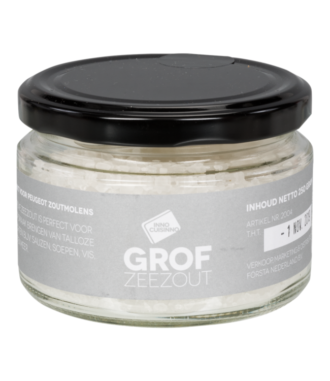 Inno Cuisinno Inno Cuisinno pot grof zee zout 250 gram