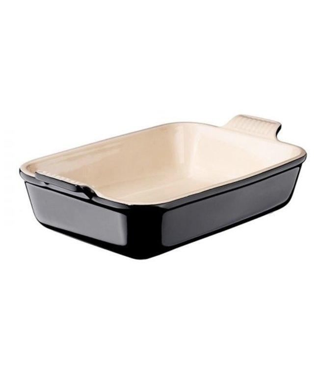 Le Creuset Le Creuset ovenschaal aardewerk 24x32 ebbenzwart