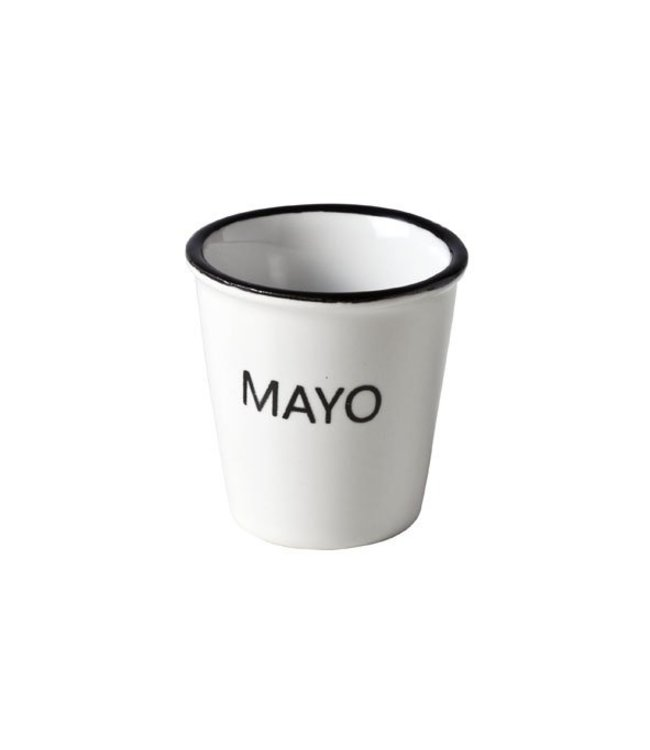 cosy & trendy Cosy & Trendy Potje met tekst mayo