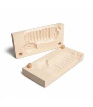 Forsta boterlammetje hout