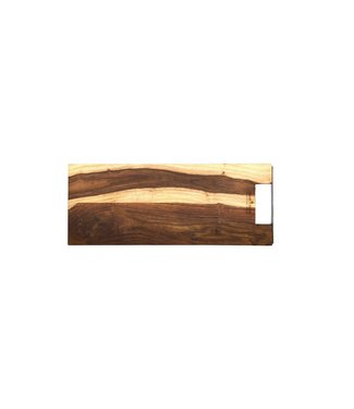 Pure Rose Wood Pure Rose wood serveerplank recht met handvat