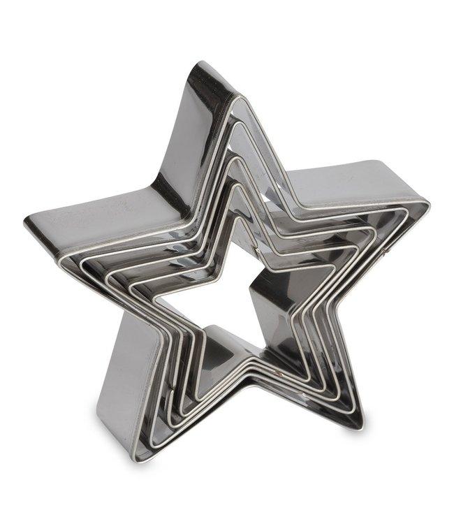 Patisse Patisse ster uitsteker set 5 stuks