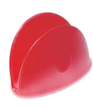 Pavonidea Pavon idea siliconen pannengreep rood
