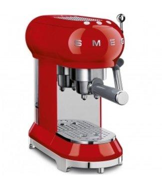 Smeg Smeg espressoapparaat ECF01 rood
