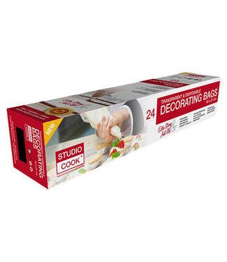 Studio Cook Studio Cook spuitzak wegwerp 40x21 cm 24 stuks