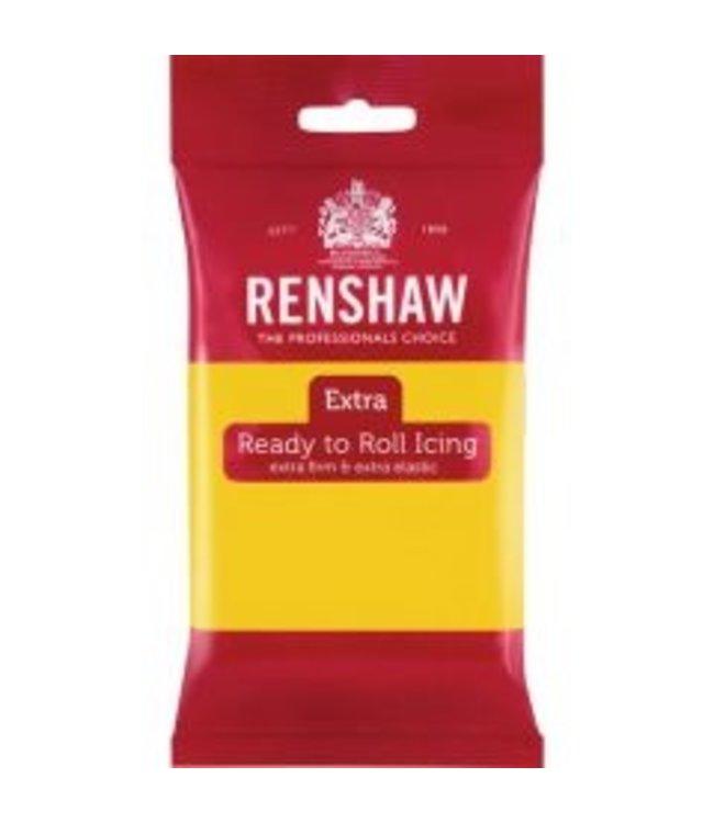 Renshaw Renshaw rolfondant 250 gram yellow