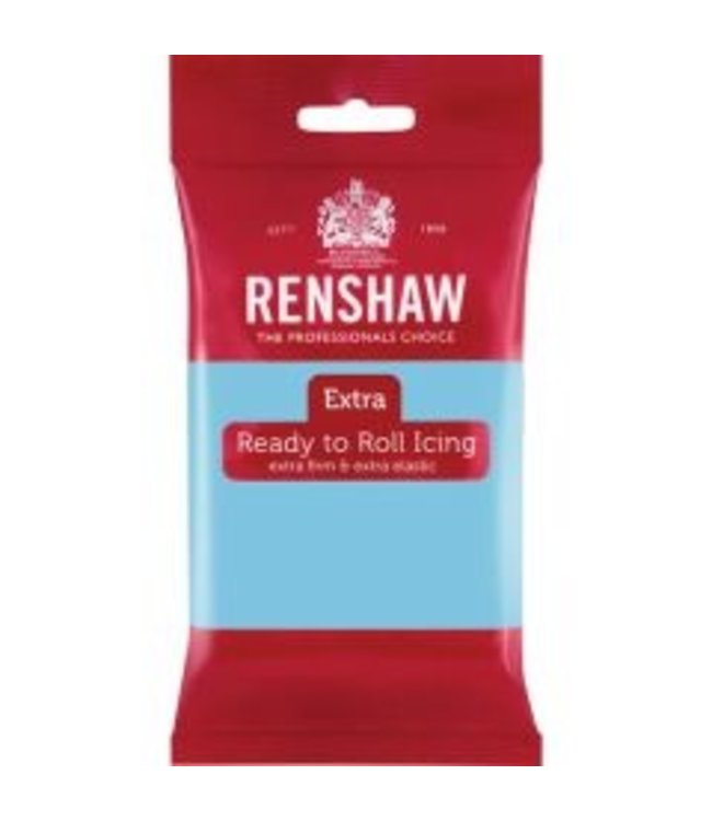 Renshaw Renshaw rolfondant 250 gram baby blauw