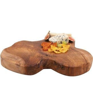 Bowls&Dishes boomstam teakhout 35 40 cm