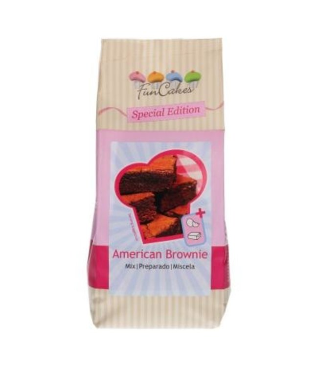 Funcakes Funcakes American brownie special edition mix 500 gr.