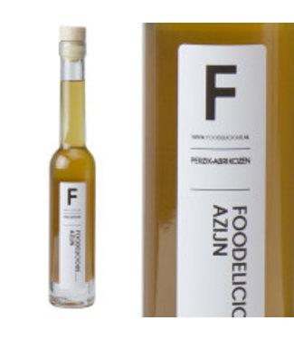Foodelicious Foodelicious perzik-abrikozen azijn 200 ml