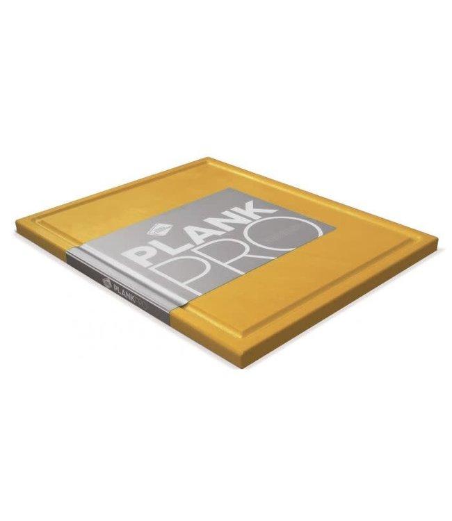 Inno Cuisinno snijplank met ril 32.5x26.5 geel