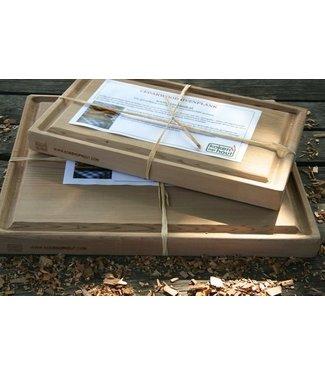 Koken op Hout Koken op hout ovenplank 30x18 cm cederhout (uitlopend)