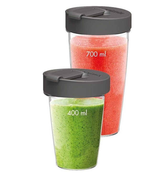 Magimix blend cups set 2 st. voor powerblender