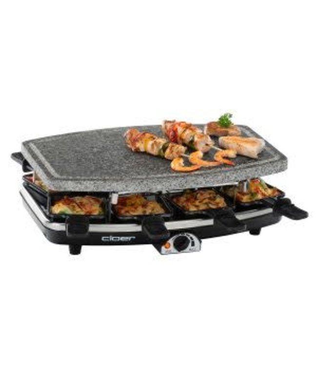 Cloer gourmet/ raclette stel
