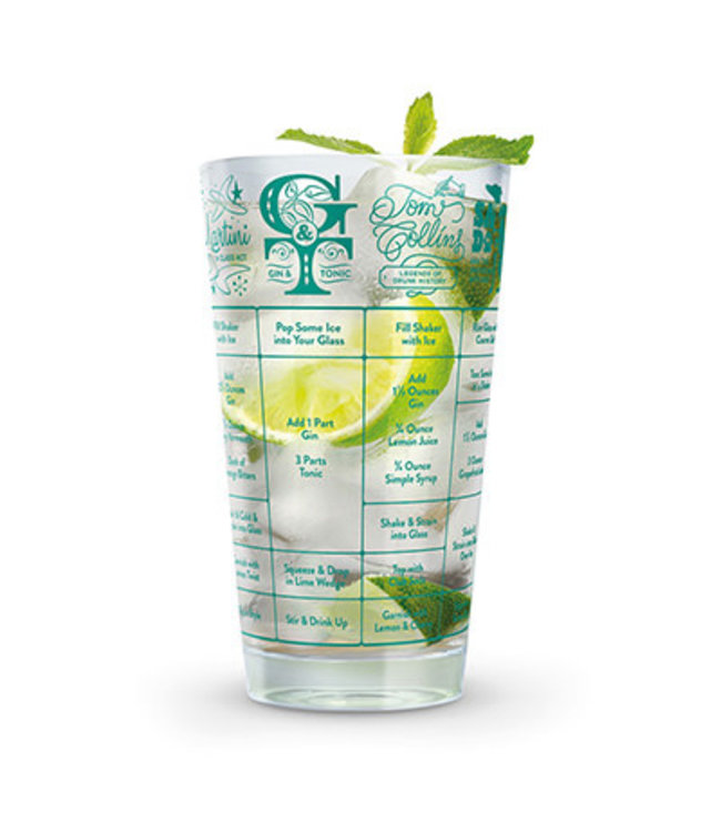 Fred Fred Good Measure Gin Recipe Glass