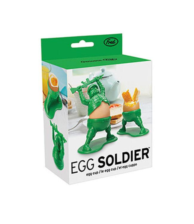 Fred Fred Egg Soldier/ eierdop soldaat