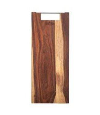Pure Rose Wood Pure Rose Wood plank recht metalen handvat 49 cm