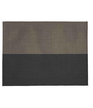 ZicZac Ziczac placemat zwart taupe 33x45 cm