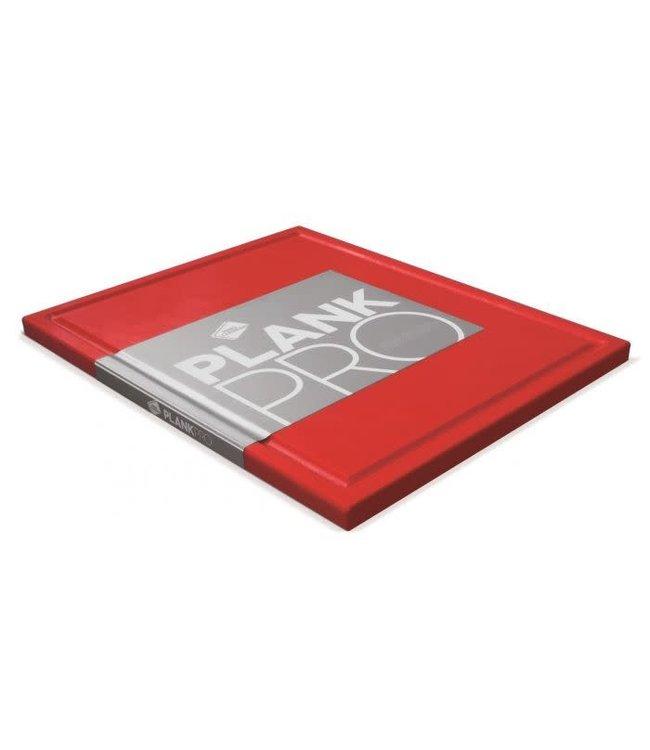 Inno Cuisinno Inno Cuisinno snijplank met ril 32.5x26.5 rood