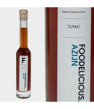 Foodelicious Foodelicious tomaat azijn 225ml
