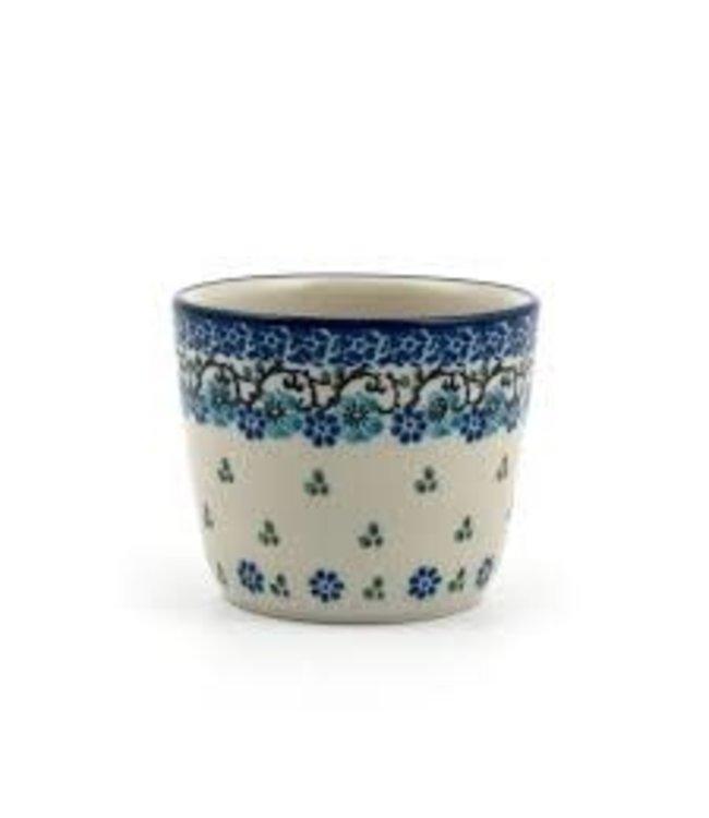 Bunzlau Castle Bunzlau mug tumbler Royal Blue 190 ml 8 cm h. 6.5 cm