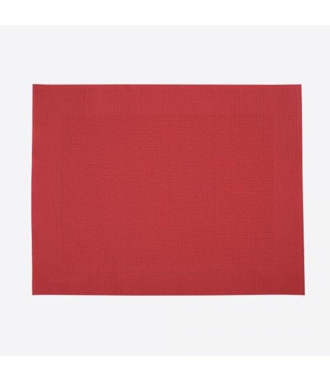 Saleen placemat kunststof rood 32x42 cm