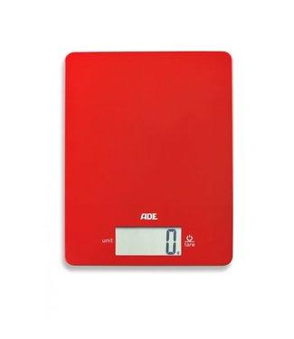 Ade ADE Leonie weegschaal digitaal rood