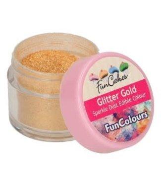 Funcakes Funcakes dust edible sparkle glitter gold
