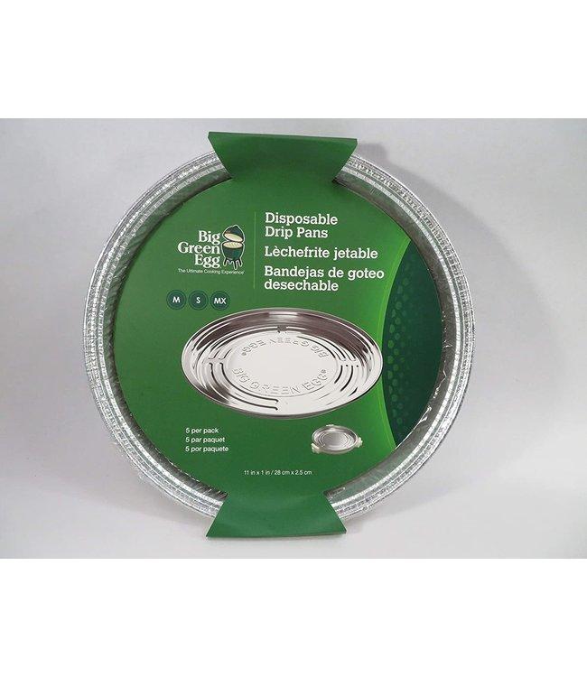 Big Green Egg Big Green Egg Disposable Drip Pans M,S, MX 5 stuks