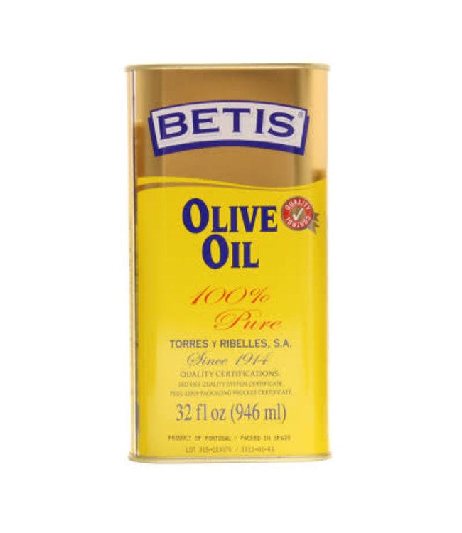 Betis Betis olijfolie voor bakken blik 946ml Geel