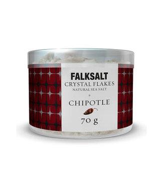Falksalt Falksalt crystal flakes Chipotle 70 gr.