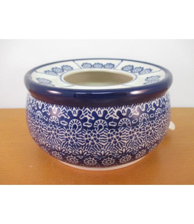 Bunzlau Castle Bunzlau  tea stove  klein 15 cm h 8 cm  Lace