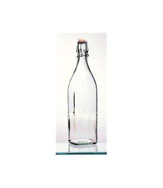 Cosy &Trendy glazen  beugelfles 1 liter
