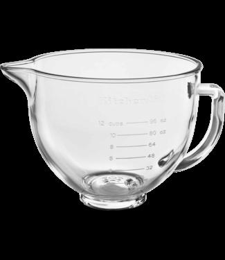 Kitchenaid KitchenAid 4,8L Glazen mengkom – voor Keukenrobots met kantelbare kop