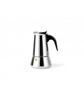 Leopold Vienna Trevi espressomaker rvs glanzend inductie 6 kops
