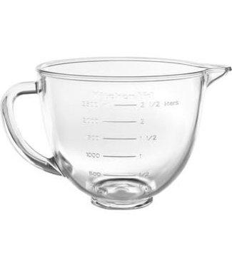 Kitchenaid KitchenAid 3.3 ltr Glazen mengkom – voor Keukenrobots met kantelbare kop