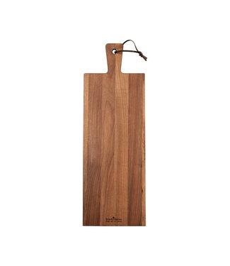 Pure Walnut Pure Walnut Wood Serveerplank 59 x 20 x 2 cm