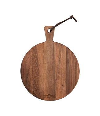Pure Walnut Pure Walnut Wood Serveerplank rond 31.5 x 205 cm