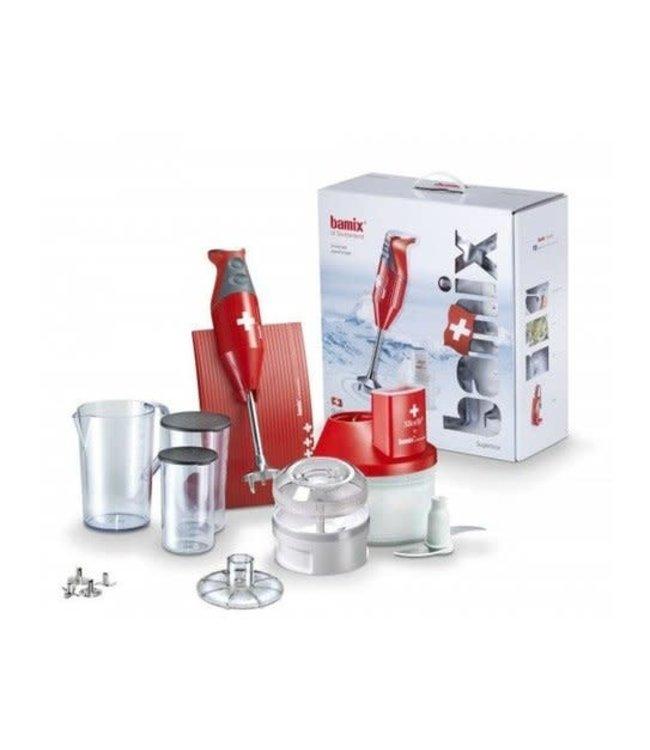 Bamix superbox rood M200