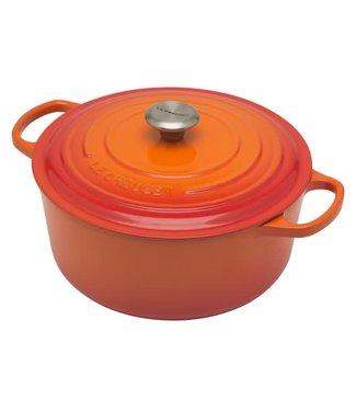 Le Creuset Le Creuset ronde braadpan 28cm Flame/ oranjerood aktie