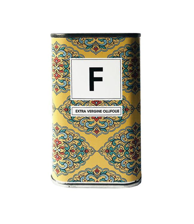 Blikje olijfolie flower 250 ml
