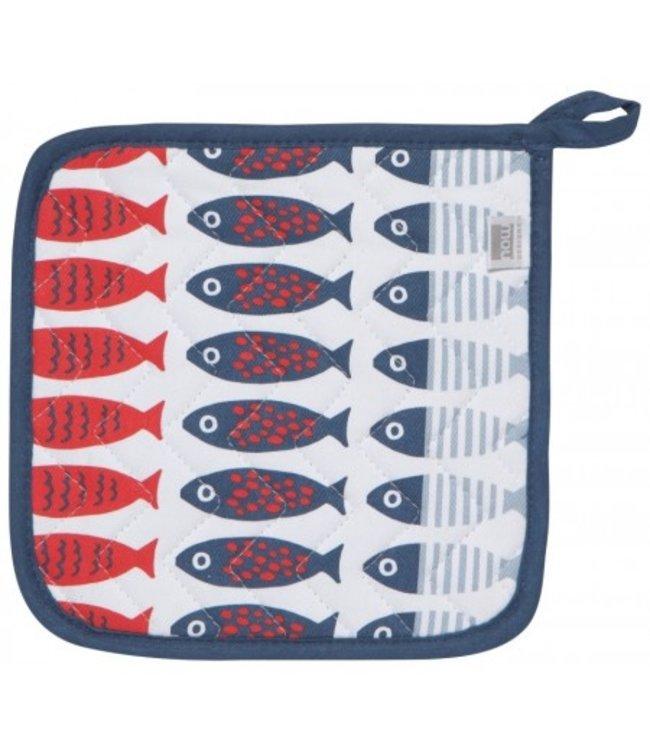 Now Designs Basic pannenlap Little Fish/vis