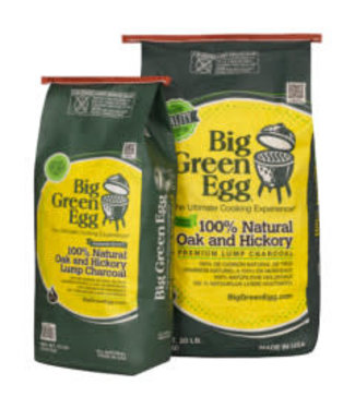 Big Green Egg Big Green Egg Oak & Hickory Charcoal/ houtskool  9 kilo