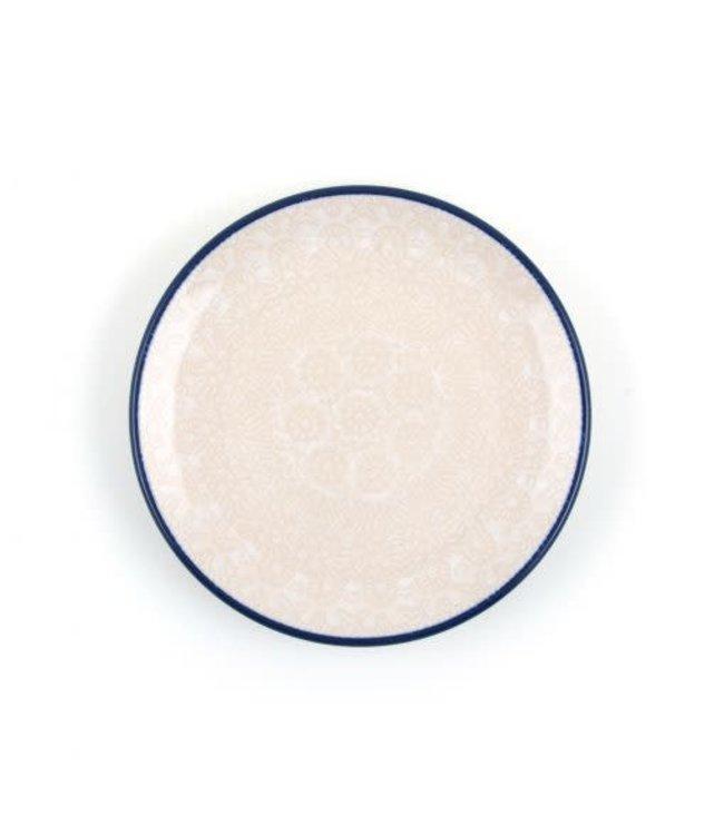 Bunzlau Castle Bunzlau cakebordje 12.3 cm White Lace