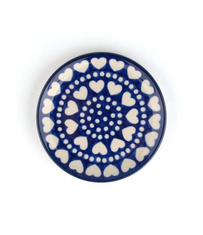 Bunzlau Castle Bunzlau cakebordje 12.3 cm  Blue Valentine