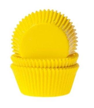 House of Marie House of Marie baking cups geel 50 stuks