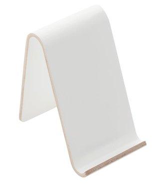 Point-Virgule Point-Virgule  gsm tablet houder Wit 9.5 x7.5x12 cm
